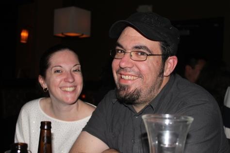Amber and Rob.