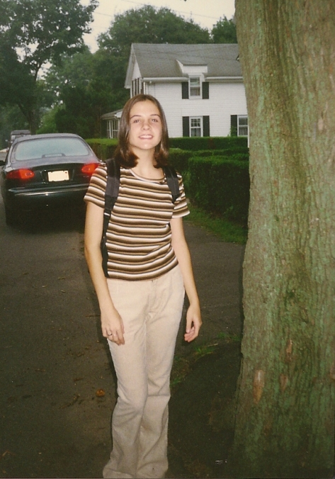 Me first day of high school